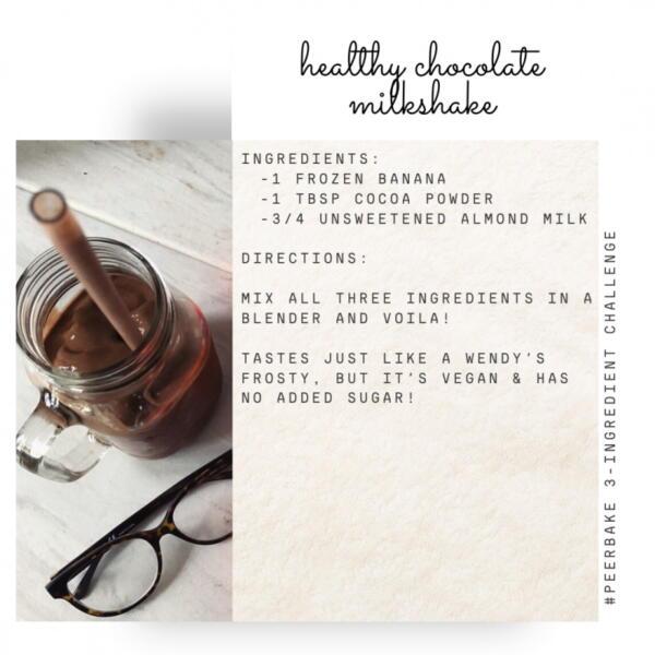 Chocolate Milkshake recipe by @clareob