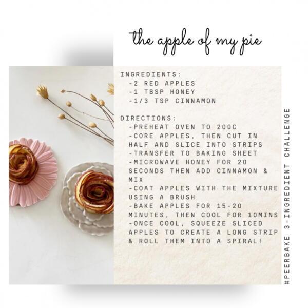 Apple pie recipe by @thefancyfluff