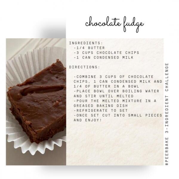 Chocolate fudge recipe by swayer @chantelalicia