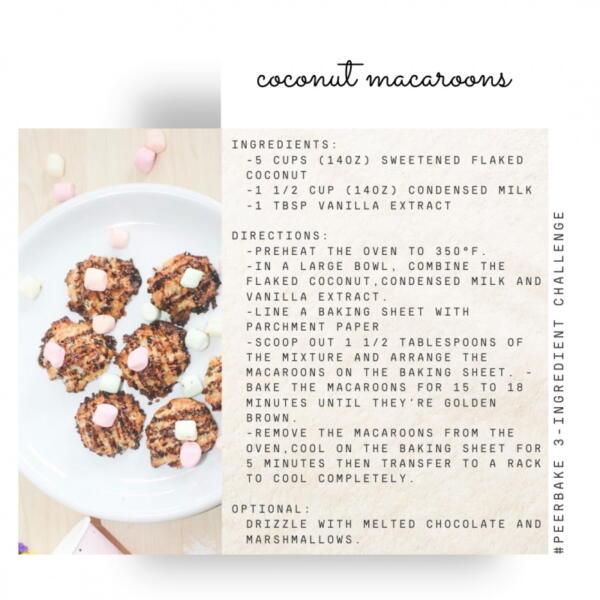 coconut macaroons recipe by @vanessaoandasan