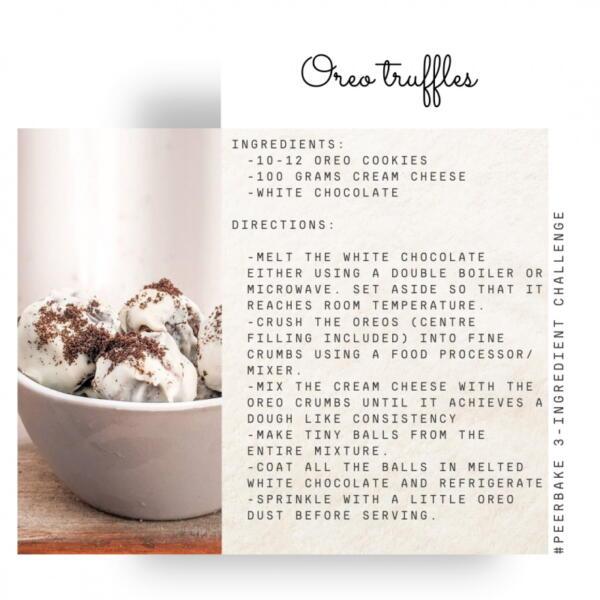 Oreo truffle recipe by @thezeniairani