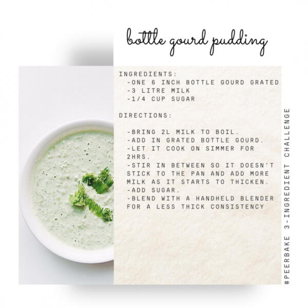 bottle gourd pudding recipe by @kaur.mama.moments