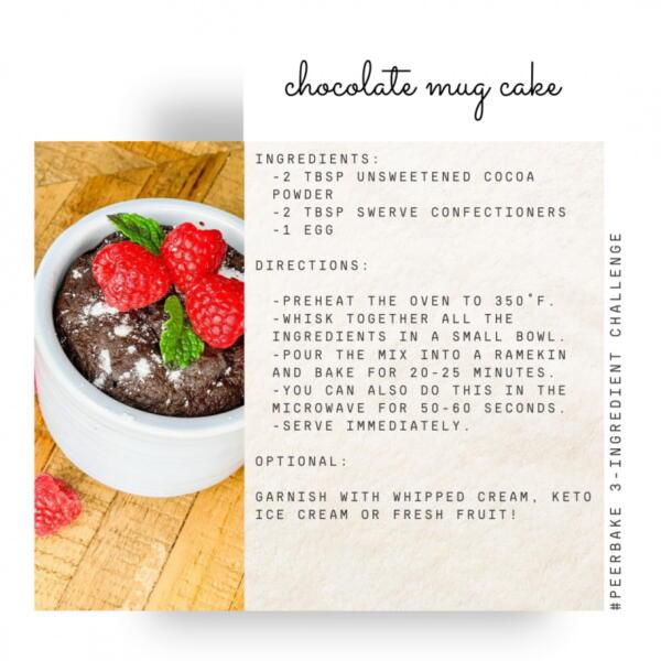 chocolate mug cake by @vancitynbeyond