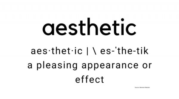 aesthetic definition