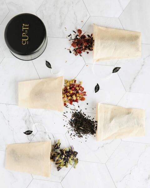 Tea bags by Cup of Te