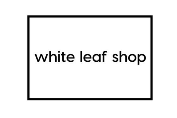 White Leaf Shop - logo