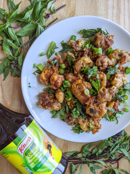 Healthy dish created with Knorr product